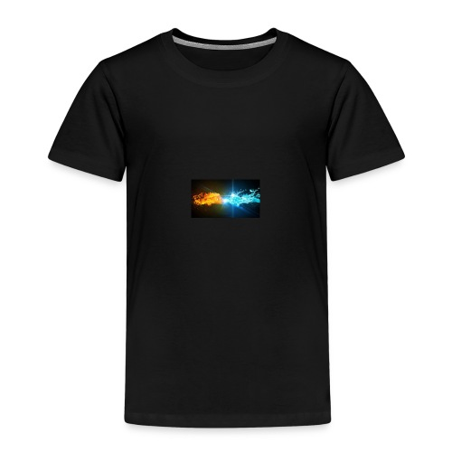 Water vs fire - Premium-T-shirt barn