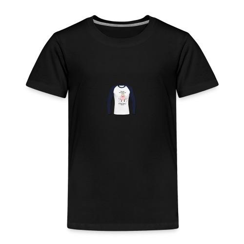 Ludieke tekst voor op je kleding en Gifts. - Kinderen Premium T-shirt