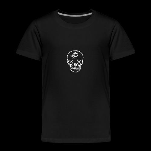 666 Skull - Premium-T-shirt barn