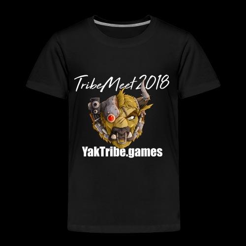 YakTribe Tribemeet 2018 Dark - Kids' Premium T-Shirt