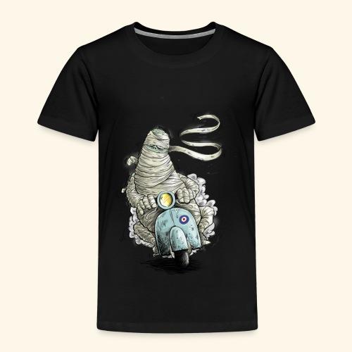 mummie vespa verband cartoon - Kinderen Premium T-shirt