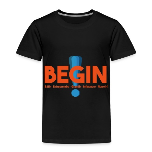 the begin project - T-shirt Premium Enfant
