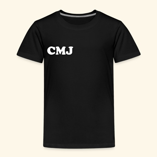 CMJ white merch - Kids' Premium T-Shirt