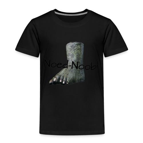 Noed-Noob! Schwarz - Kinder Premium T-Shirt