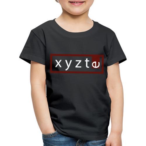 xyzte mit rahmen - Kinder Premium T-Shirt
