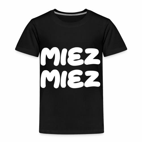 Miez Miez - frei veränderbar - als Vektor - Kinder Premium T-Shirt