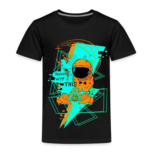 Astronauta Pop 8'0 orange storm - Camiseta premium niño