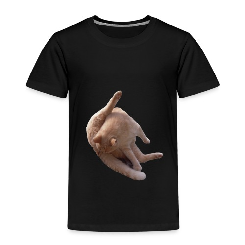 Cat sucking Balls - Camiseta premium niño