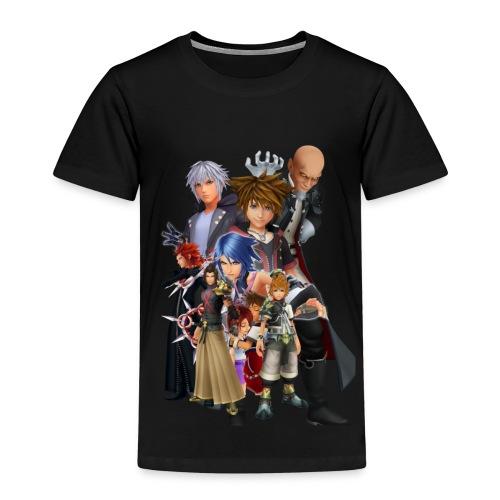 Kingdom Hearts Design (WjkoenhdindustrieS) - Kids' Premium T-Shirt