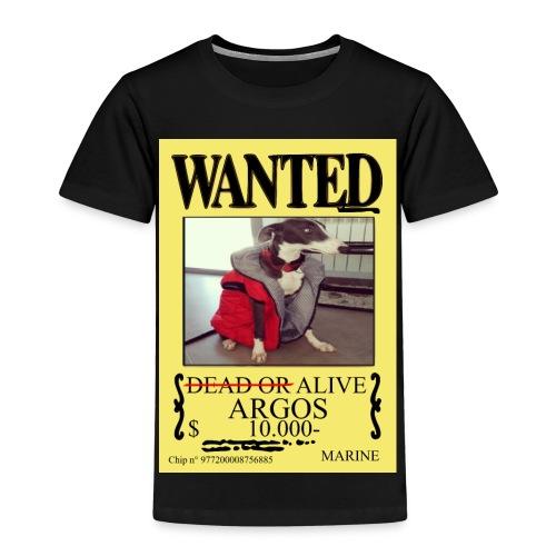 #dóndeestáargos ARGOS ver.wanted - Camiseta premium niño