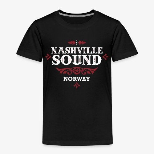 Nashville Sound - Offisiell Country Gospel Merch - Premium T-skjorte for barn