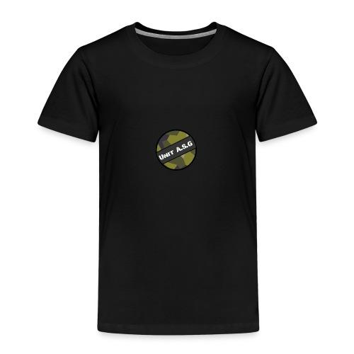 UnitASG badge - Premium-T-shirt barn