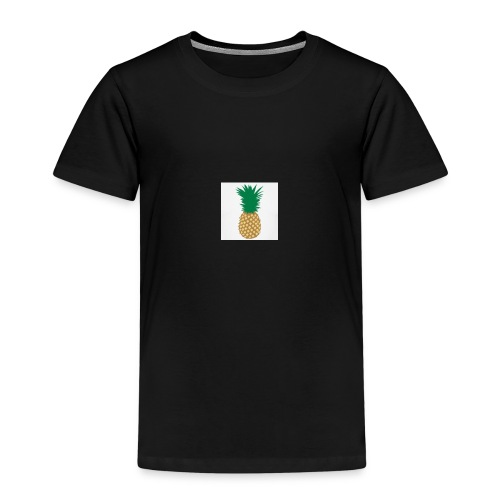 PINEAPPLE SHIRT - Børne premium T-shirt