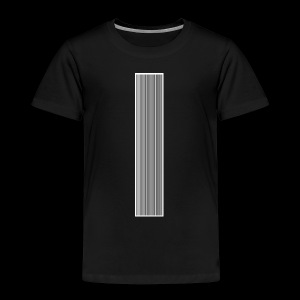 Barcode Think positive - Kinder Premium T-Shirt