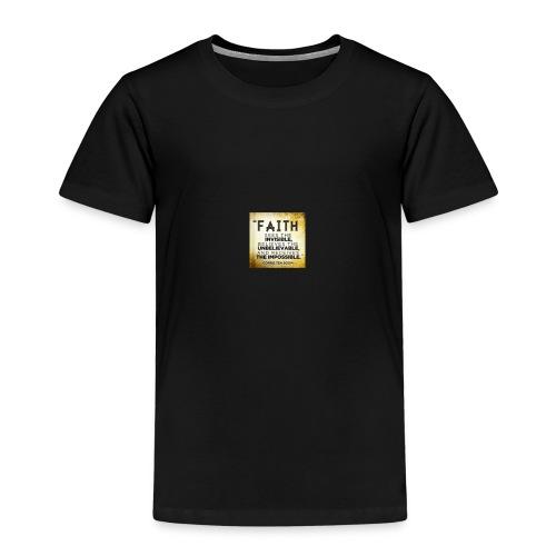 faith is 2 - Kids' Premium T-Shirt