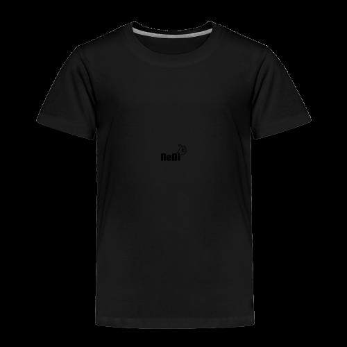 NeBiLOGO - Lasten premium t-paita