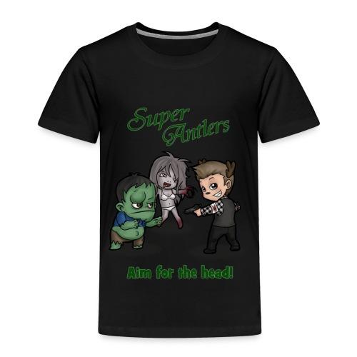 SuperAntlers Zombie Slayer - Kids' Premium T-Shirt