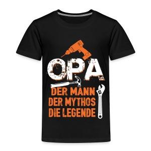 opa der mann der mythos die legende - bester opa - T-shirt Premium Enfant