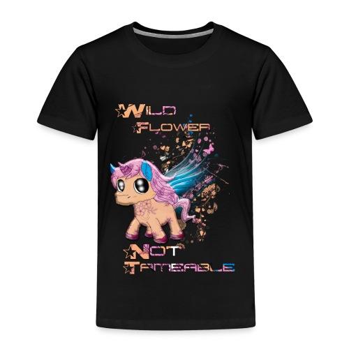 Wild Unicorn - Kinder Premium T-Shirt