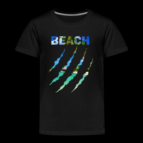 BEACH - Camiseta premium niño