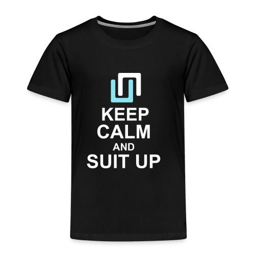 Neon Suit Up - Kids' Premium T-Shirt
