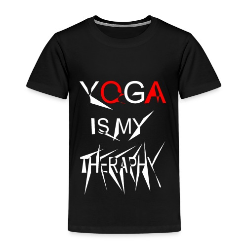 Yoga is my theraphy 2 - Kinder Premium T-Shirt