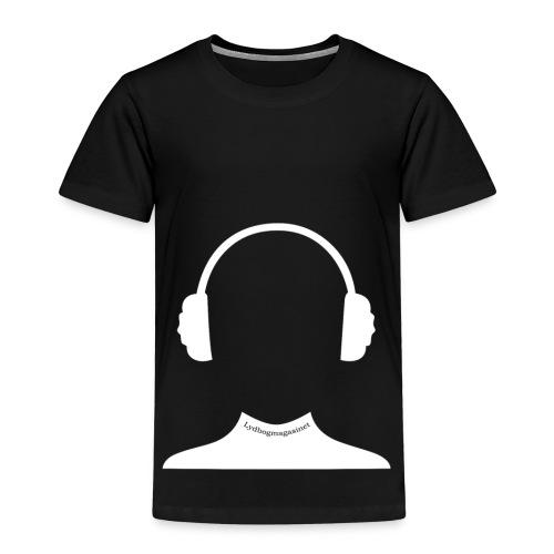 fyld hovedet hvid - Børne premium T-shirt