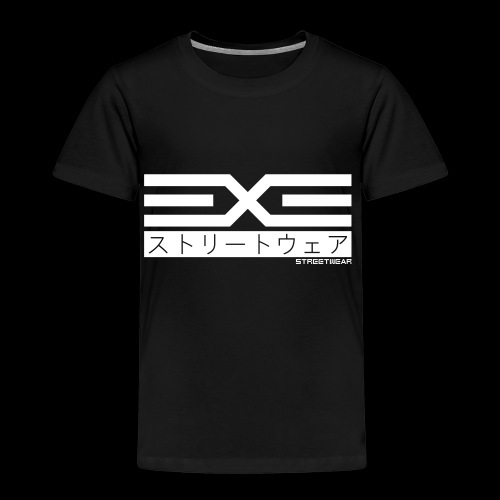 EXE Steetwear white - Kinder Premium T-Shirt