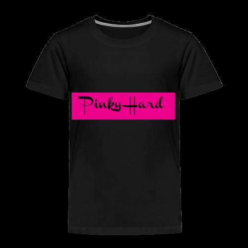 Pinky Hard Logo - Kinder Premium T-Shirt