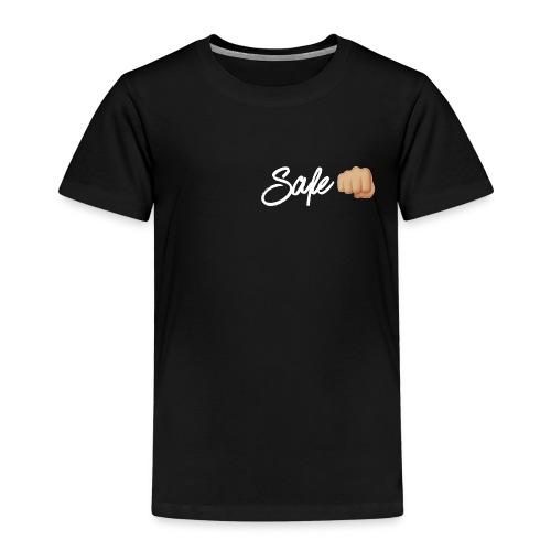 Safe White Logo - Kids' Premium T-Shirt