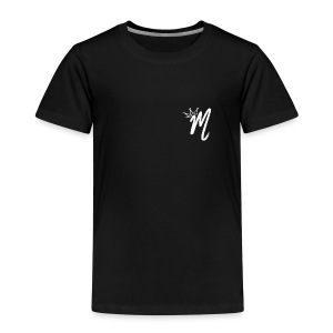 ItzManzey (BLACK TOPS AND HOODIES) - Kids' Premium T-Shirt