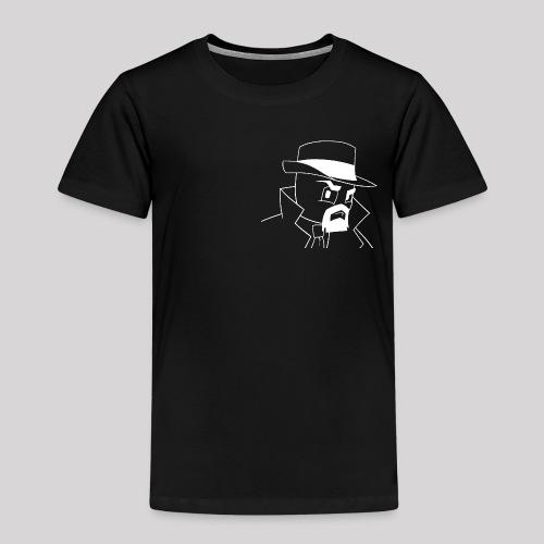 Logga outline vit - Premium-T-shirt barn