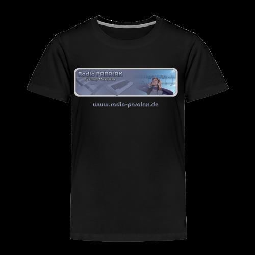 Radio PARALAX Classic-Logo mit Webadresse - Kinder Premium T-Shirt