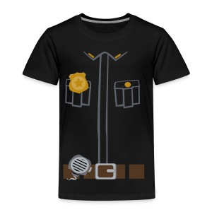 Police Tee Black edition - Kids' Premium T-Shirt