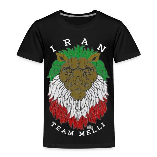 TEAM MELLI IRAN W - Kinder Premium T-Shirt