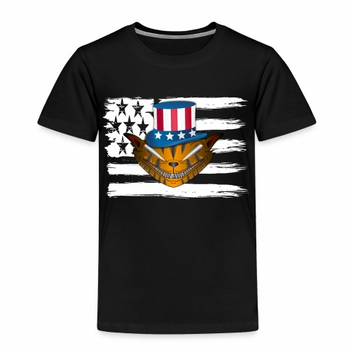 All American Cat Love - Amerikanische Katzen Liebe - Kinder Premium T-Shirt