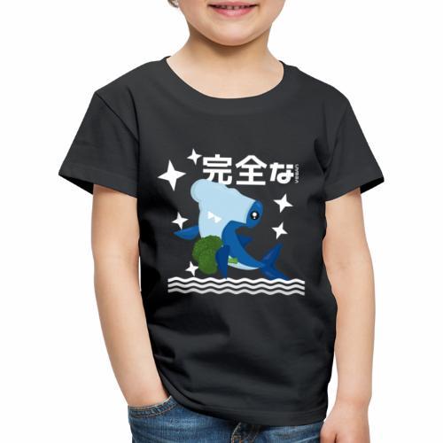 Kawaii Veganer Hai Shirt Veganer T-Shirt Geschenk - Kinder Premium T-Shirt