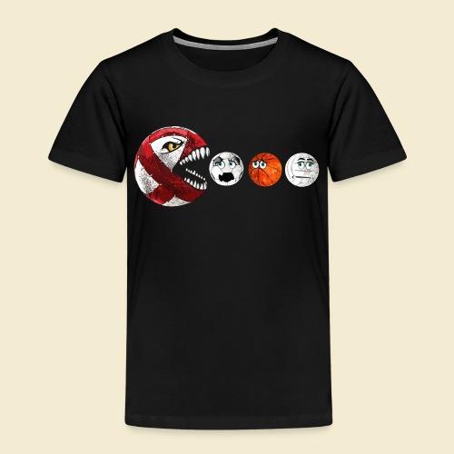 Radball   Cycle Ball RedMan - Kinder Premium T-Shirt