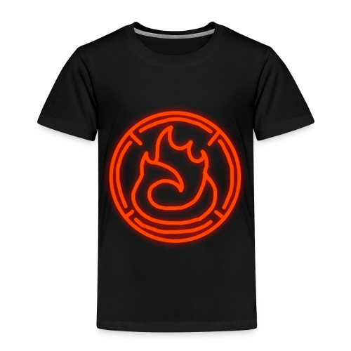 Fire Magic Circle - Kids' Premium T-Shirt