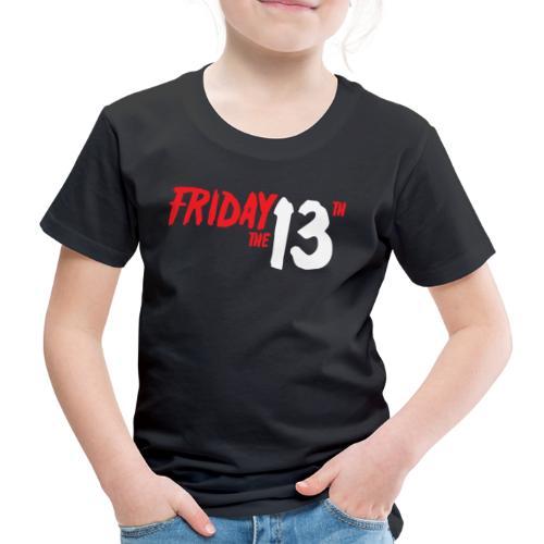 FRIDAY 13 - Camiseta premium niño