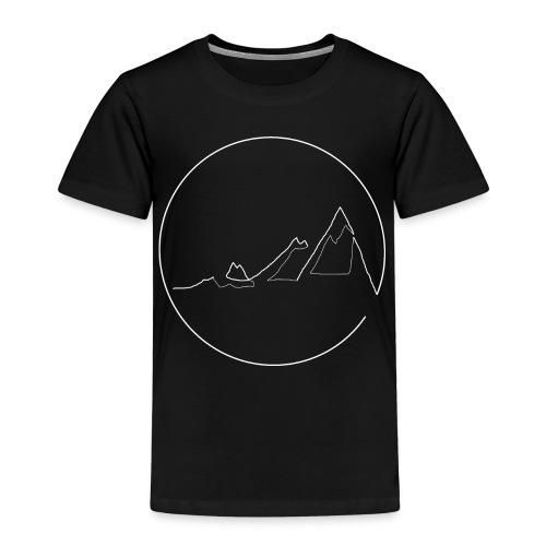 Mountain white - Kinder Premium T-Shirt