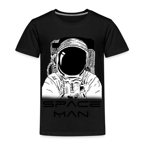Space man black - Kids' Premium T-Shirt