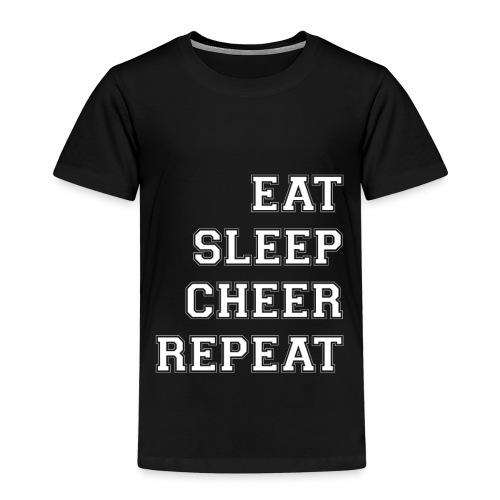 Eat Sleep Cheer Repeat - Kids' Premium T-Shirt