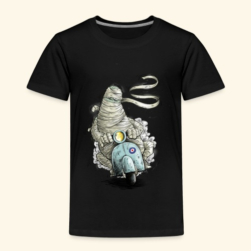 mummie vespa verband cartoon - Kinderen Premium T-shirt