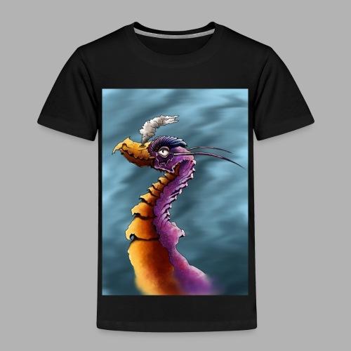 gebekte draak - Kinderen Premium T-shirt