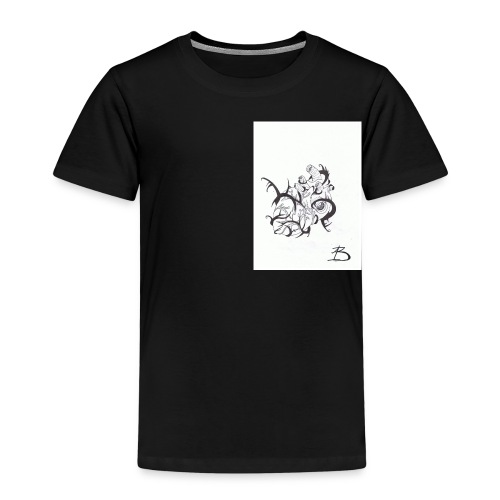 Coeur - T-shirt Premium Enfant