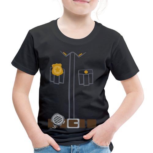 Police Tee Black edition - Kids' Premium T-Shirt