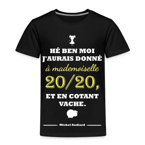 Citation Les Tontons Flingueurs - Audiard - T-shirt Premium Enfant
