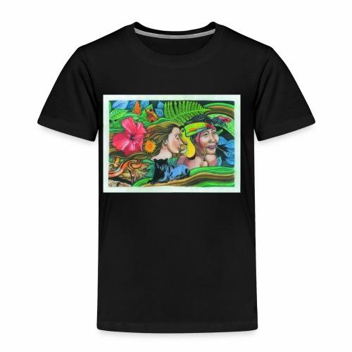 Südamerikanischer Dschungel - Kinder Premium T-Shirt