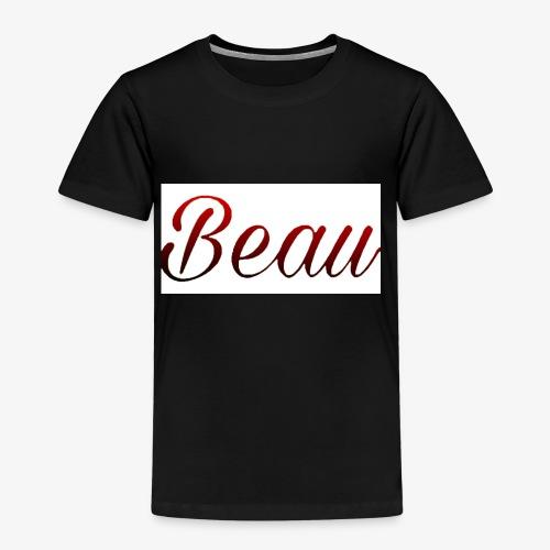 itzBeau Beau with white background - Kids' Premium T-Shirt